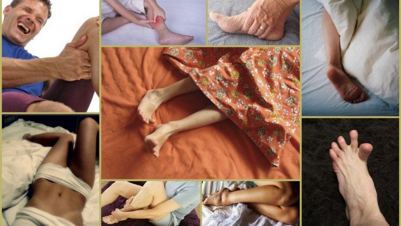 Причина судорог в ногах в ночное время