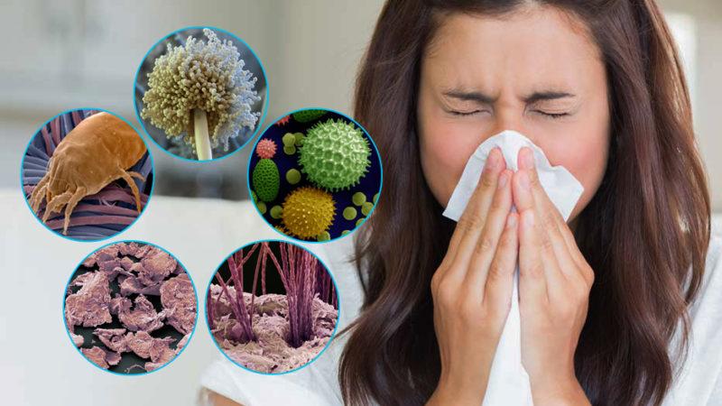 Распространенные аллергические заболевания
