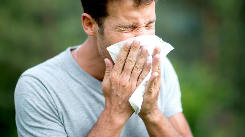 Хроническое чихание