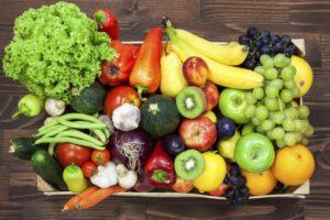 Увеличьте потребление фруктов и овощей