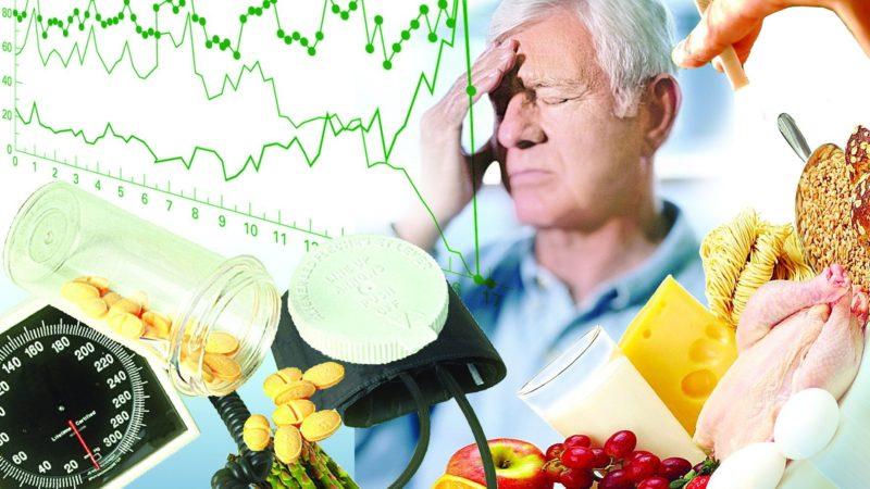 Какое питание снижает давление